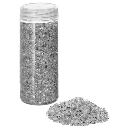 KULÖRT decoration, crushed glass white 0.70 kg