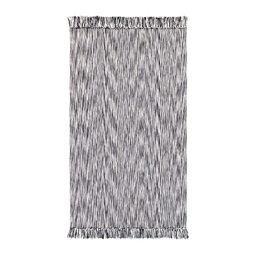 LAPPLJUNG Rug, flatwoven   Easy to keep clean since it is machine washable.