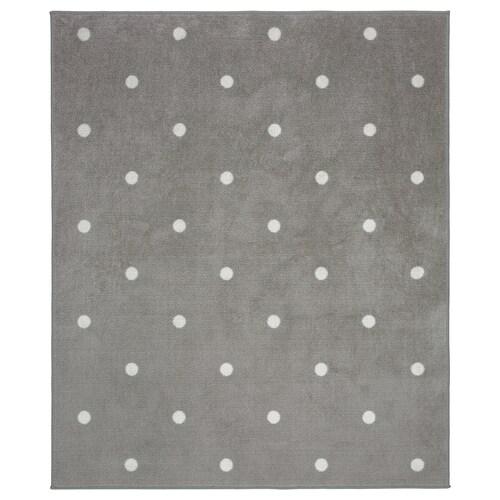 LEN rug dotted/grey 160 cm 133 cm 2.13 m²