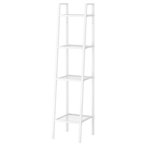 LERBERG shelf unit white 35 cm 35 cm 148 cm 10 kg