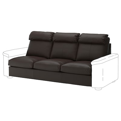 LIDHULT 3-seat section, Grann/Bomstad dark brown