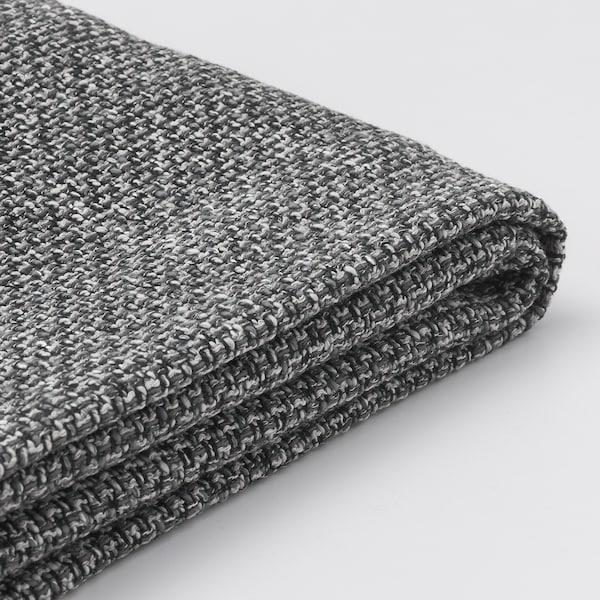LIDHULT Cover for corner section, Lejde grey/black