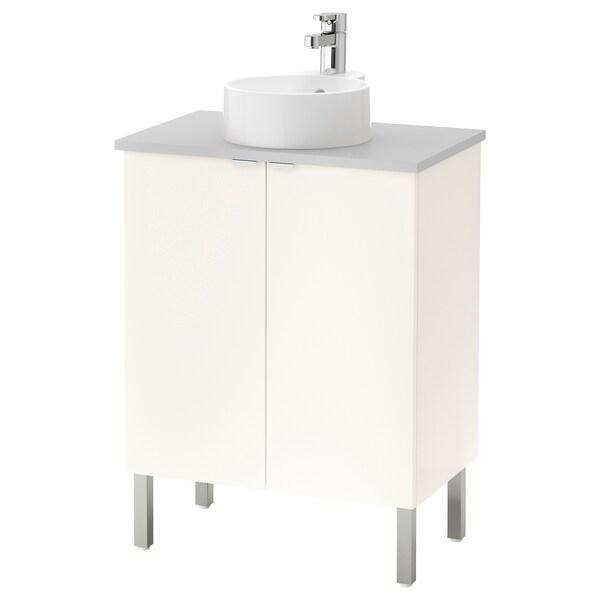 Lillangen Viskan Gutviken Washbasin Cabinet With 2 Doors White