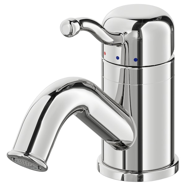 LILLSVAN Wash-basin mixer tap with strainer, chrome-plated