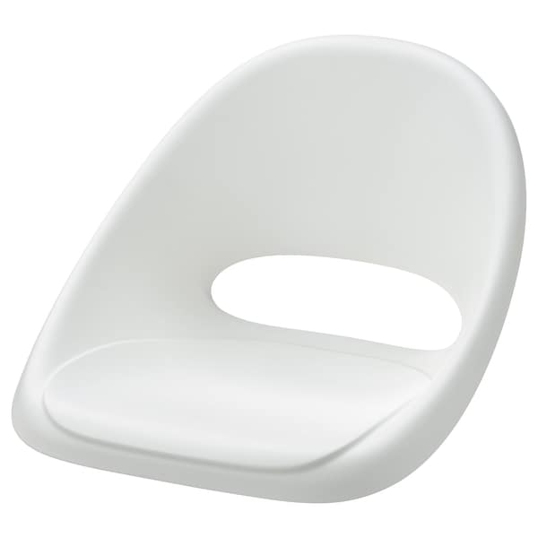 LOBERGET Seat shell for junior chair, white