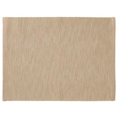 MÄRIT Place mat, beige, 35x45 cm