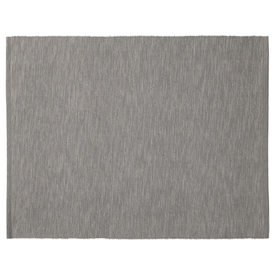 MÄRIT Place mat, grey, 35x45 cm