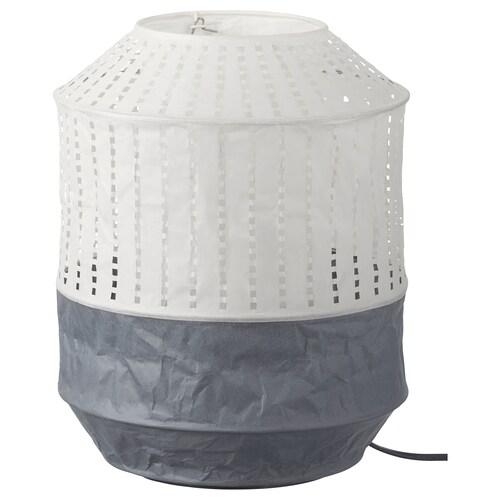 MAJORNA table lamp white/grey 13 W 32 cm 24 cm 1.9 m