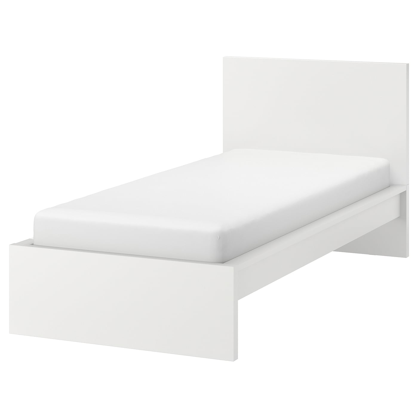 Picture of: Malm Bed Frame High White Ikea