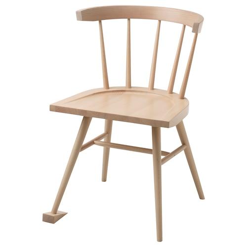 MARKERAD chair beech 53 cm 46 cm 76 cm 47 cm 43 cm 44 cm