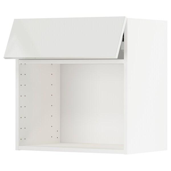 METOD wall cab for microwave ov w push-op white/Ringhult white 60.0 cm 37 cm 38.8 cm 60.0 cm