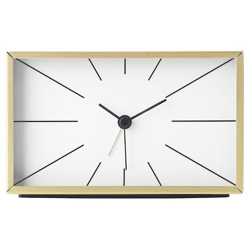 MYGGJAGARE alarm clock brass-colour 7 cm 10 cm 15 cm