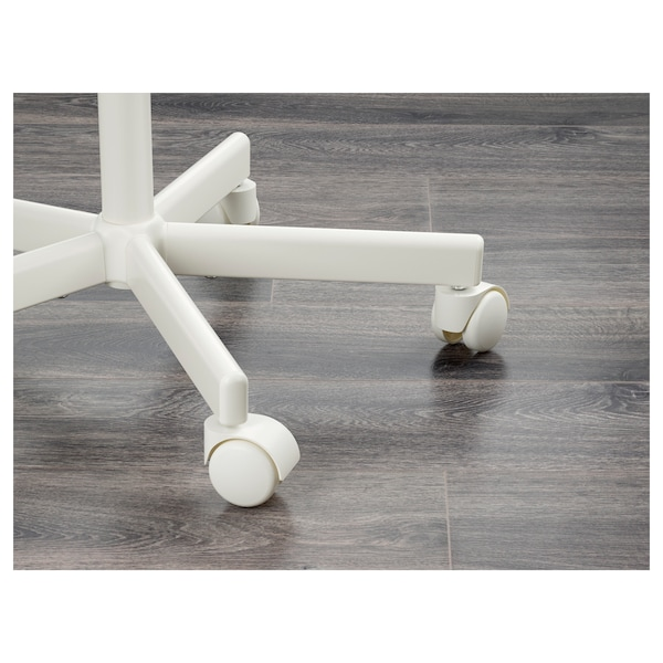 ÖRFJÄLL Children's desk chair, white/Vissle dark grey