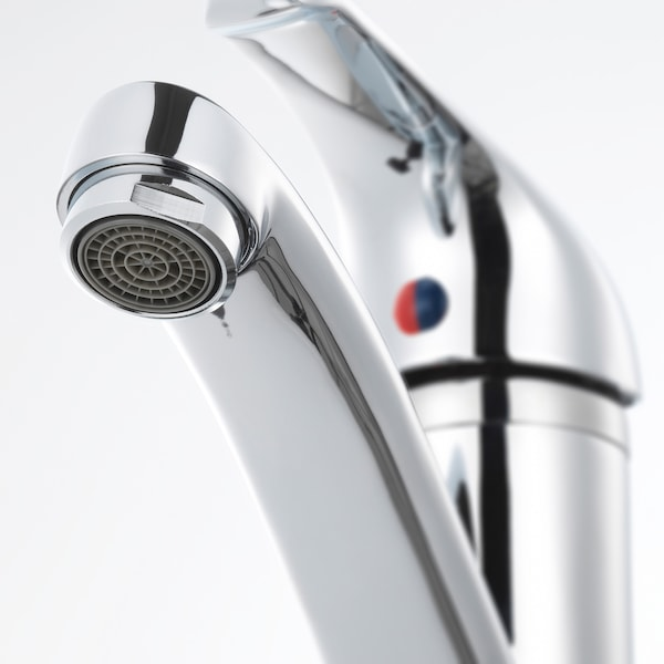 OLSKÄR Wash-basin mixer tap, chrome-plated