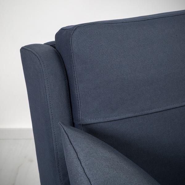 OMTÄNKSAM 2-seat sofa, Orrsta black-blue