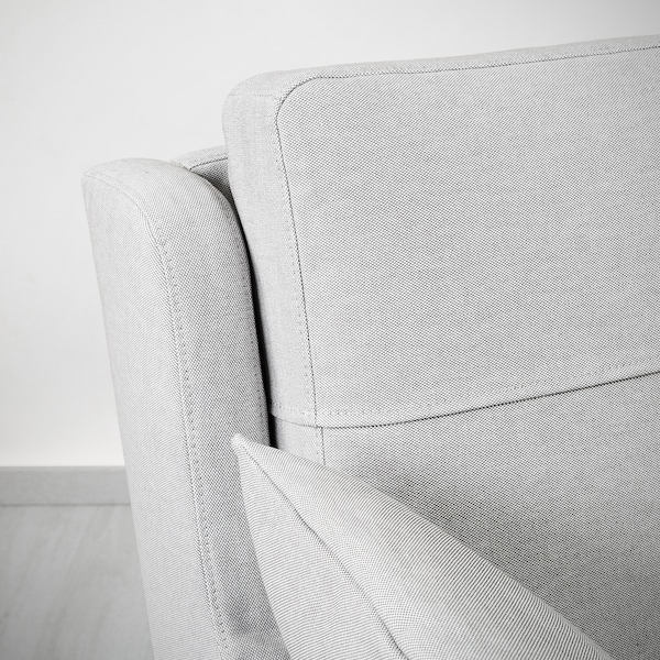 OMTÄNKSAM 2-seat sofa, Orrsta light grey