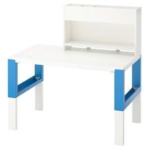 Colour: White/blue.