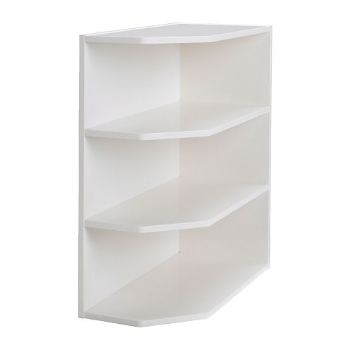 Perfekt base cabinet end unit ikea for Kitchen base unit shelf