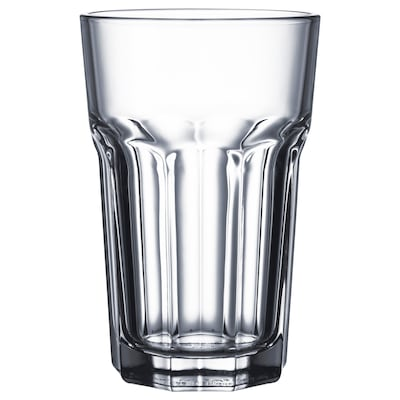 POKAL Glass, clear glass, 35 cl 4 pieces