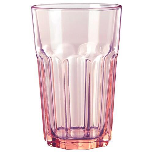 POKAL glass pink 14 cm 35 cl
