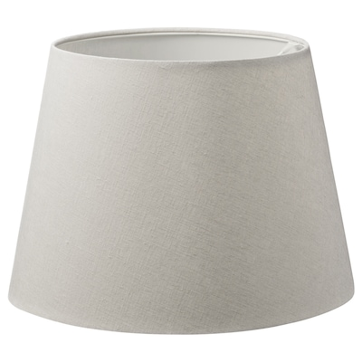 SKOTTORP Lamp shade, light grey, 42 cm