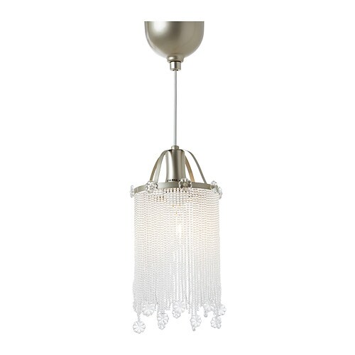 SÖDER Pendant lamp   Hang in a window or in the corner of a room to bring a little glamour into your home.
