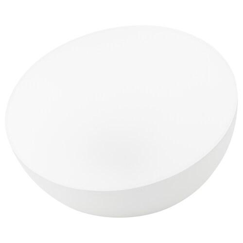 SOLVINDEN LED solar-powered lighting outdoor/half globe white 2 lm 18 cm 27 cm