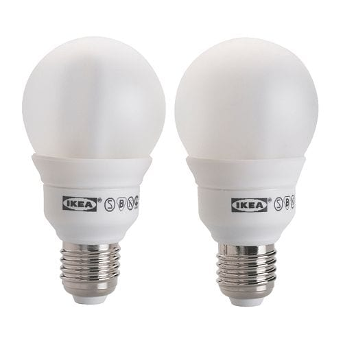 SPARSAM Low-energy bulb E27   Energy efficient; has up to 10 times longer life than an incandescent bulb.