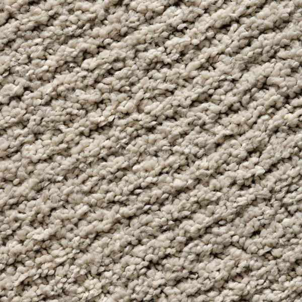 SPORUP Rug, low pile, light beige, 200x300 cm