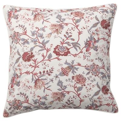 SPRÄNGÖRT Cushion, white/pink, 50x50 cm