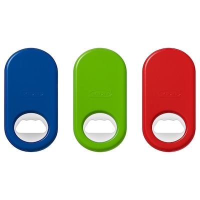 STÄM Bottle opener, red/green/blue