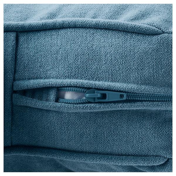 STOCKSUND Armchair, Ljungen blue/black/wood