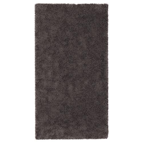 STOENSE rug, low pile dark grey 150 cm 80 cm 18 mm 1.20 m² 2560 g/m² 1490 g/m² 15 mm