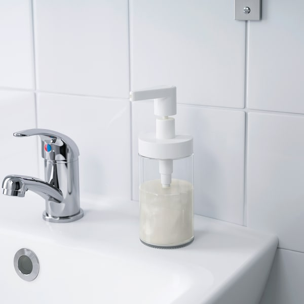 TACKAN soap dispenser white 17 cm 200 ml