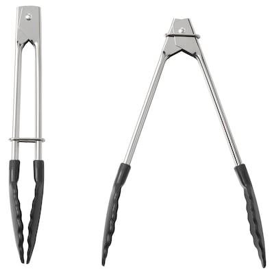 TILLÄMPAD Tongs, stainless steel