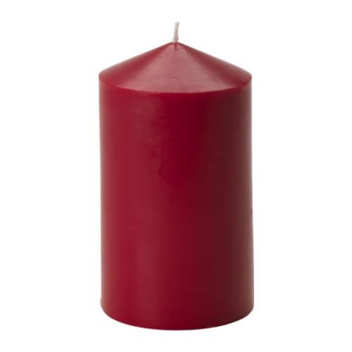 TINDRA Scented block candle