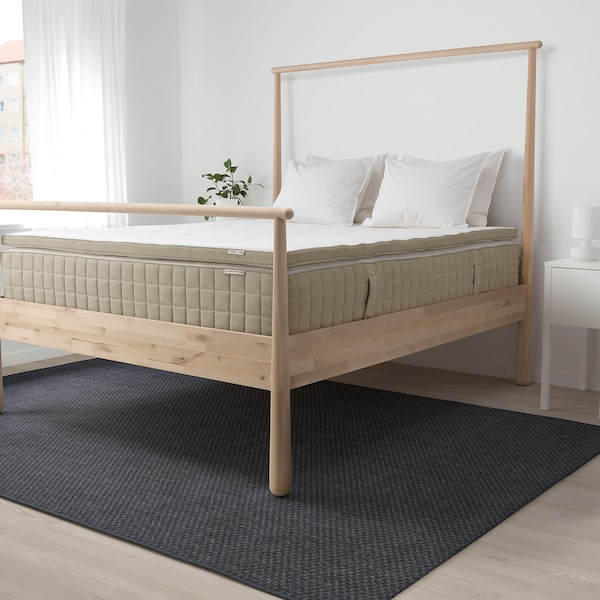 TISTEDAL mattress pad natural 200 cm 150 cm 6 cm