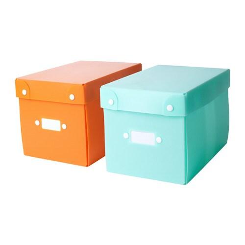 Tjenis storage box ikea for Ikea paper storage