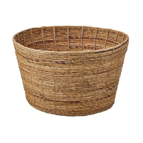 TJILLEVIPS basket banana fibre 30 cm 50 cm