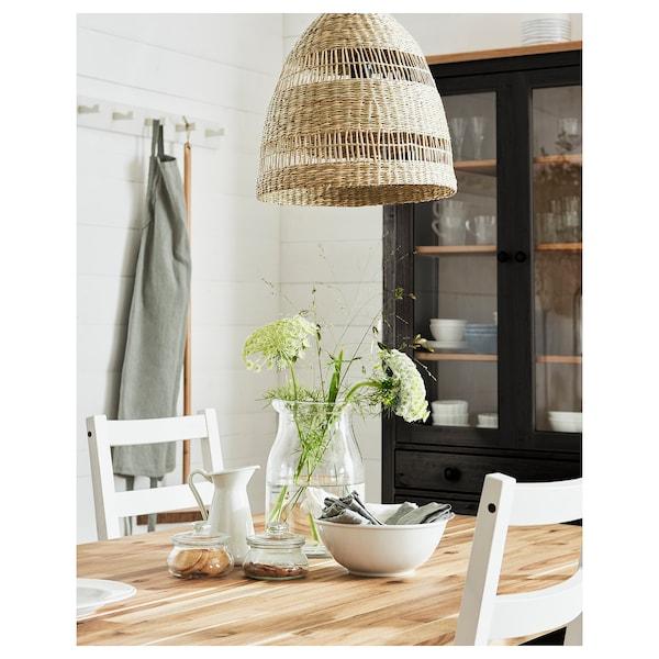 TORARED Pendant lamp shade, seagrass/handmade, 36 cm