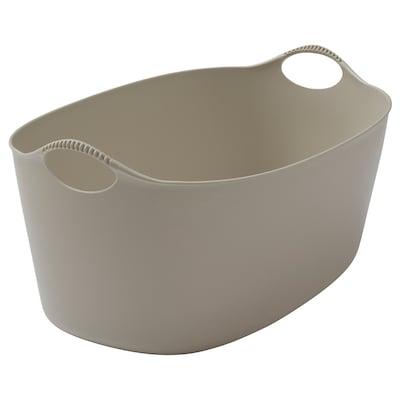 TORKIS Flexi laundry basket, in-/outdoor, beige, 35 l