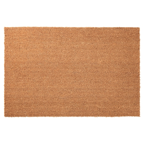 TRAMPA door mat natural 90 cm 60 cm 16 mm 0.54 m² 5900 g/m²