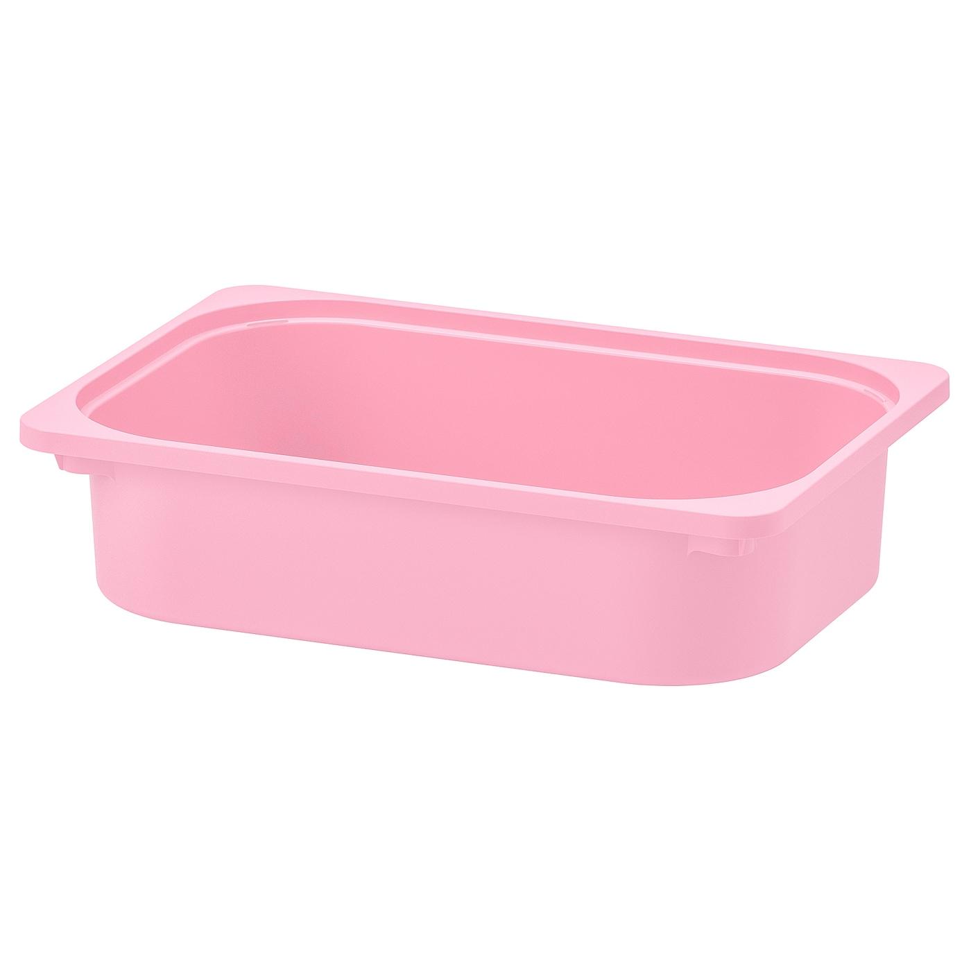 IKEA TROFAST Box in rosa; 42cm x 30cm x 23cm
