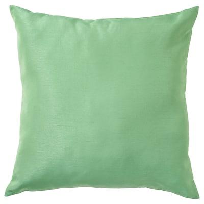 ULLKAKTUS Cushion, medium green, 50x50 cm