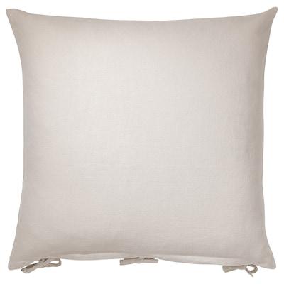 URSULA Cushion cover, light beige, 65x65 cm