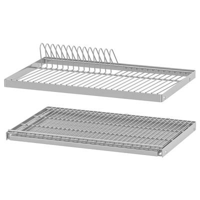 UTRUSTA Dish drainer for wall cabinet, 60x35 cm