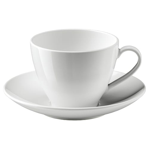 VÄRDERA teacup with saucer 18 cm 11 cm 8 cm 36 cl