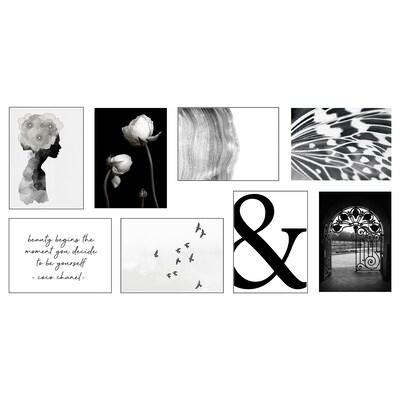 VÄXBO Art card, Flowers on my mind, 13x18 cm