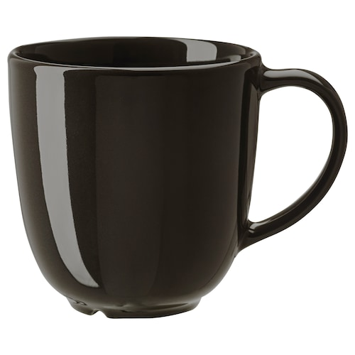 VARDAGEN mug dark grey 8 cm 30 cl