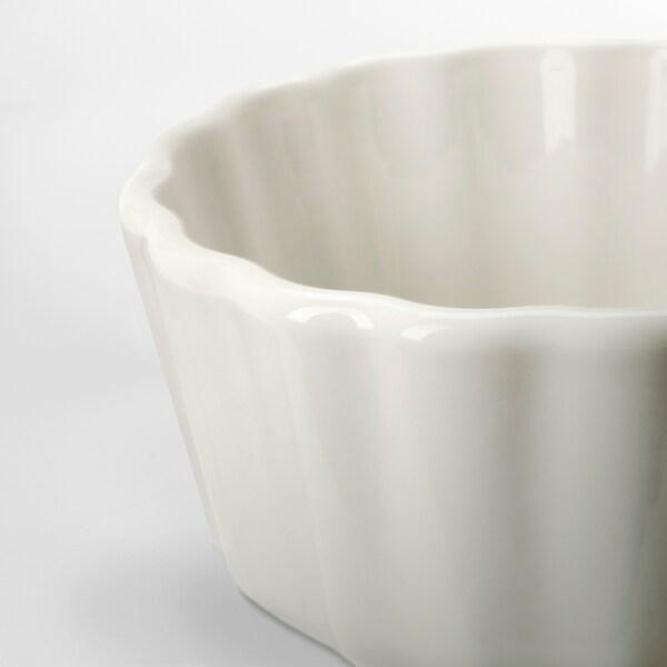 VARDAGEN Pie dish, off-white, 11 cm